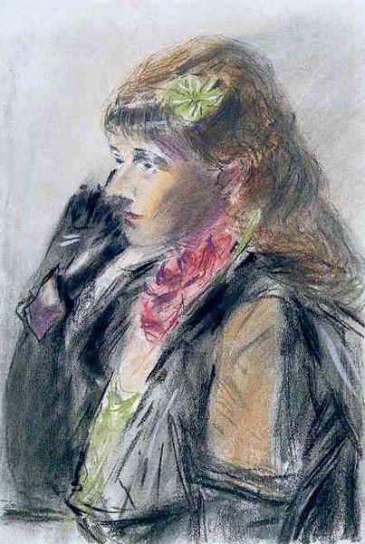 Ernst Hassebrauk: Damenbildnis (Charlotte)