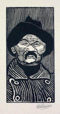 Otto Pankok sieht Maxim Gorki